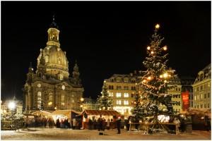 Vánoční trhy Drážďany