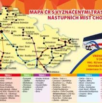 Svozové trasy Chorvatsko