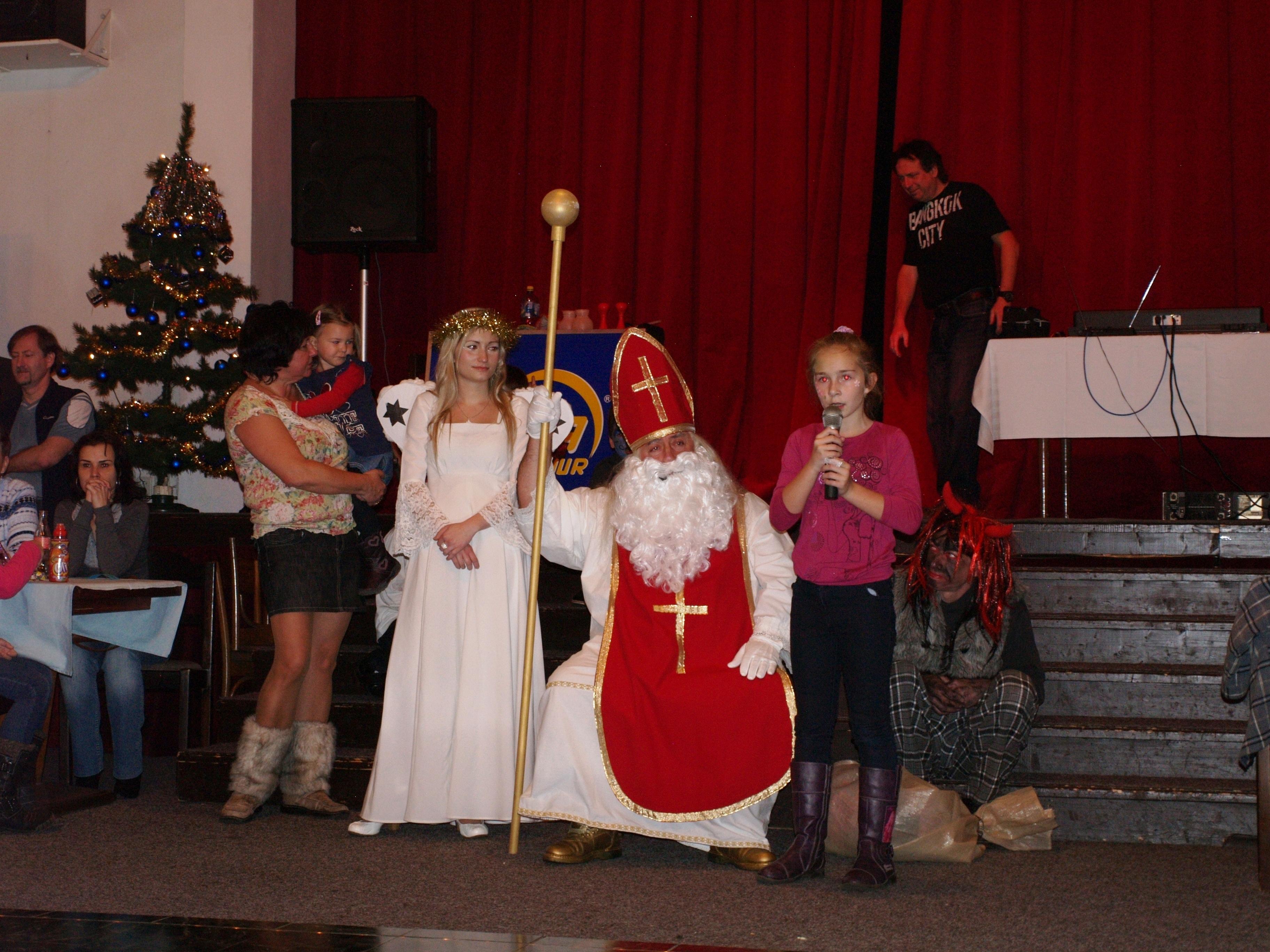Duhová mikulášská nadílka pro děti – 2.12.2012