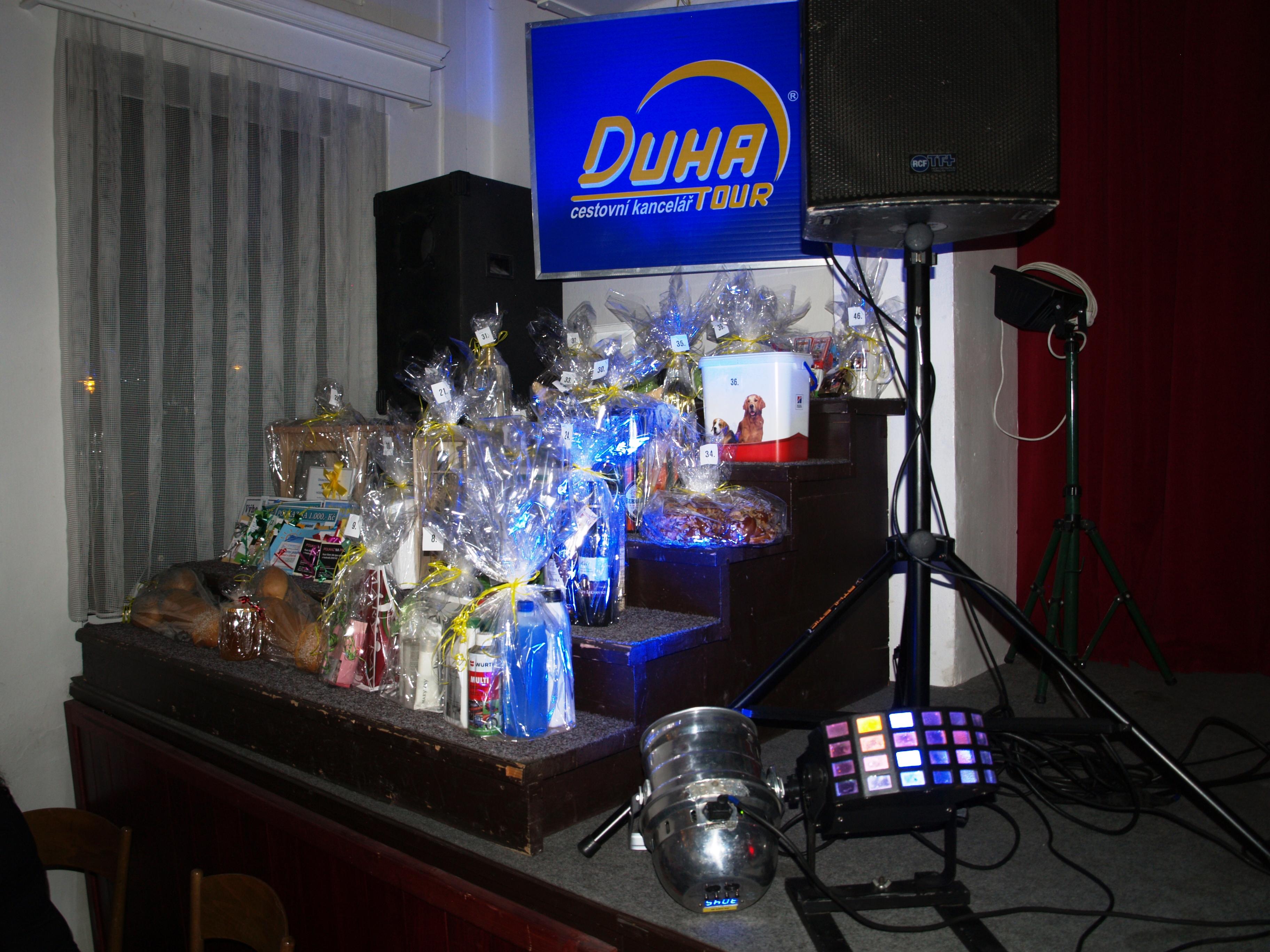 X.Společenský ples DUHA TOUR s.r.o. – 15.2.2014