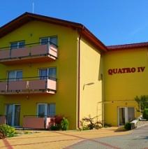 "Podhájska – Penzion ""Quatro II. a IV.***"""