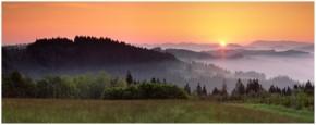 panorama Šumava