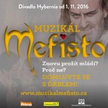 """ MEFISTO ""   muzikál – divadlo Hybernia"