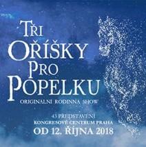 """15.12. – 16.12.2018 Muzikál """" Tři oříšky pro Popelku"""" + Adventní Praha"""