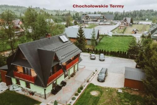 """!!! NOVINKA !!! POLSKO – CHOCHOLOW – POKOJE A SRUBY """"U TADKA"""" termální lázně"""