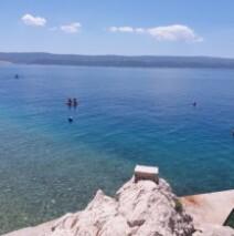 Ruskamen (Chorvatsko) – pláže